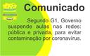 Suspensão das aulas em Goiás devido ao CoronaVírus